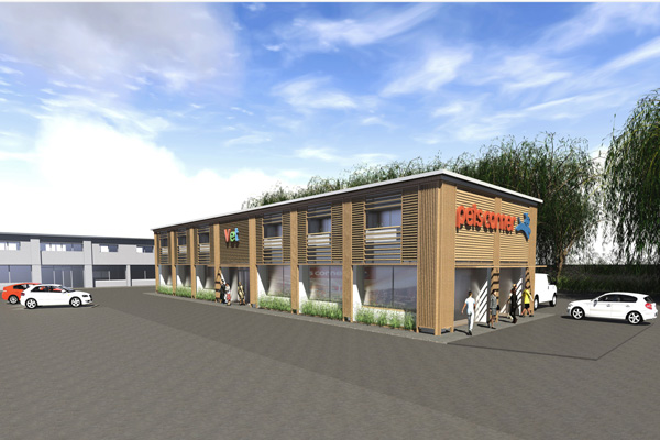 Retail and office building – Melksham Wiltshire
