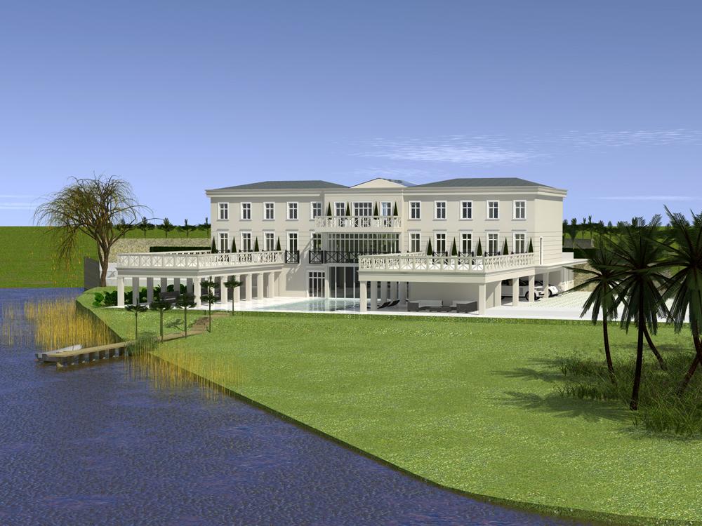 Lakeside Mansion Itu Brazil